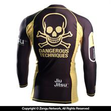 93 Brand Choking Hazard V2 7/8 Sleeve Rash Guard